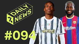 Could Pogba re-join Juventus? + Barcelona to return for Spurs star!  Daily News