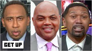 Stephen A. and Jalen Rose react to Charles Barkley saying MJ had 'selective prosecution' | Get Up