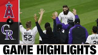Charlie Blackmon hits walk-off slam in 8-4 win | Angels-Rockies Game Highlights 9/11/20