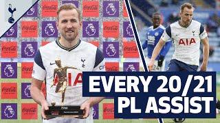Playmaker of the Year!  EVERY 2020/21 Harry Kane Premier League assist!