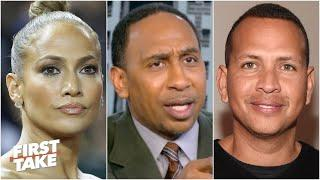 First Take on the possibility of Alex Rodriguez & Jennifer Lopez's group buying the New York Mets