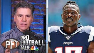 Did Tom Brady work out with Antonio Brown in offseason? | Pro Football Talk | NBC Sports