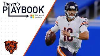 Trubisky and Miller connect big vs Lions | Thayer's Playbook | Chicago Bears