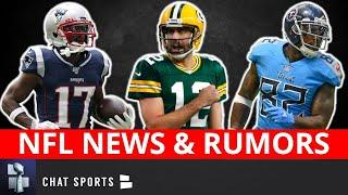 NFL Rumors: Aaron Rodgers Trade? Antonio Brown & Seahawks? OBJ's Future? Delanie Walker To Patriots?