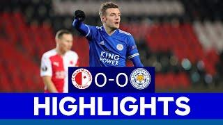 Foxes Earn Clean Sheet In First Leg | Slavia Prague 0 Leicester City 0 | 2020/21