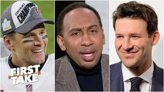 Stephen A. reacts to Tony Romo's comments about Patrick Mahomes and Tom Brady   First Take