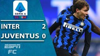 Inter Milan dominates Juventus to make big statement in Scudetto race | ESPN FC Serie A Highlights