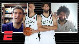 Brook and Robin Lopez talk Giannis' leadership and all things Disney | WYD? with Ros Gold-Onwude