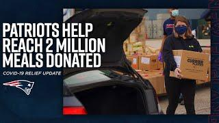 Kraft Family & Mass Military Support Foundation Reach 2 Million Meals Donated to Those in Need