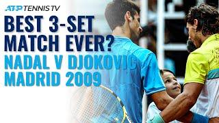 Rafa Nadal vs Novak Djokovic EPIC! | Madrid 2009 Extended Tennis Highlights