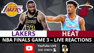 Heat Beat Lakers In Game 3 Of 2020 NBA Finals | Jimmy Butler DOMINATES | NBA Finals Live Reaction