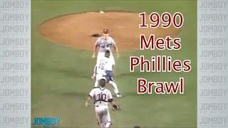 Doc Gooden Charges the Mound and Darryl Strawberry gets mad, a breakdown