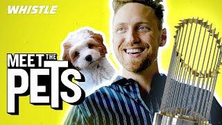 Hunter Pence Talks World Series Rings & Shows Off His GENIUS Dog!