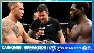 Full fight: Jared Cannonier v Jack Hermansson