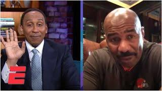 Steve Harvey guesses Stephen A's top 5 Cleveland sports moments | Stephen A's World