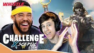 Javale McGee Is The BEST Gamer In The NBA!  Call Of Duty W/ PRO Gamer Sceptic