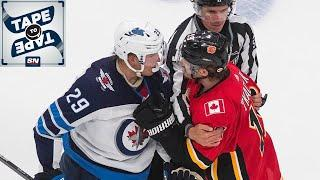 Calgary Flames Trying To Close Out Winnipeg Jets & Maple Leafs Lose Jake Muzzin | Tape To Tape