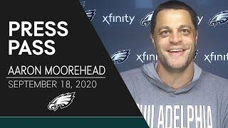 Aaron Moorehead: Rookie WRs Looking to Learn From Week 1 | Eagles Press Pass