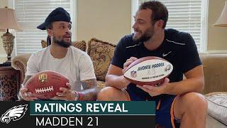 Eagles Players Guess their Madden 21 Ratings | Philadelphia Eagles