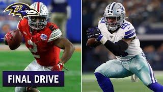How J.K. Dobbins Compares to Ezekiel Elliott | Ravens Final Drive