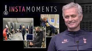 Jose Mourinho tells the stories behind his best Instagram posts