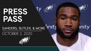 """Miles Sanders: """"I'm Ready to Go""""   Eagles Press Pass"""