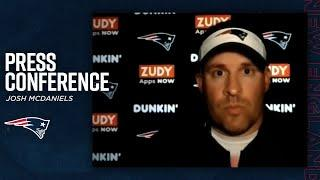 Josh McDaniels: Cam Newton has a 'different grasp of the offense' this year   Press Conference