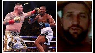 'ANTHONY JOSHUA GOT BEAT UP BY A FAT MEXICAN - HOW WAS I NOT IN TOP 10?' - CARL FROCH GOES ON RANT