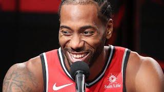 Kawhi Leonard's Most Hilarious & Viral Quotes