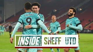 Inside Sheff Utd: Behind-the-scenes look at Bramall Lane win | Sheffield Utd 0-2 Liverpool