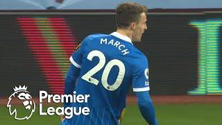 Solly March reclaims Brighton's lead over Aston Villa | Premier League | NBC Sports
