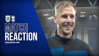 Roberts - We continue to grow in confidence   Huddersfield Town 1-1 Blues