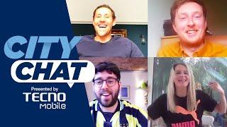 'PHIL FODEN CAN BE LIKE DE BRUYNE' | FOOTBALL IS BACK | CITY CHAT EP01