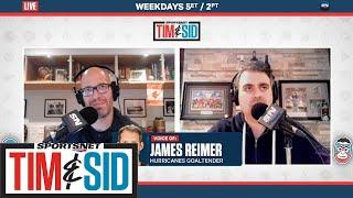 James Reimer Reflects On Series Against New York Rangers | Tim & Sid