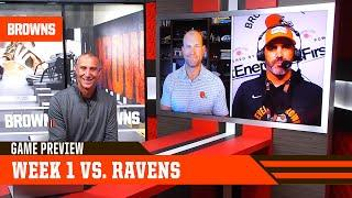 Game Preview: Week 1 vs. Baltimore Ravens | Browns Live