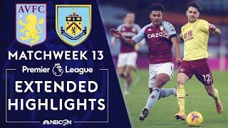 Aston Villa v. Burnley | PREMIER LEAGUE HIGHLIGHTS | 12/17/2020 | NBC Sports