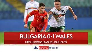Jonny Williams' late strike seals victory for Wales | Bulgaria 0-1 Wales | Nations League Highlights