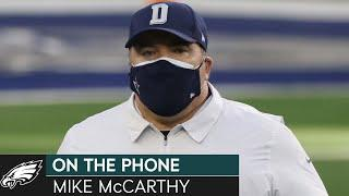 Mike McCarthy Discusses Preparing for Eagles Offense w/ Jalen Hurts & More | Eagles On the Phone
