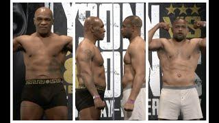 ITS ACTUALLY F***** HAPPENING! - *MIKE TYSON v ROY JONES JR* - (FULL & COMPLETE) OFFICIAL WEIGH IN