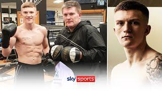 BREAKING! Ricky Hatton's son Campbell Hatton signs for Matchroom Boxing & will debut in February