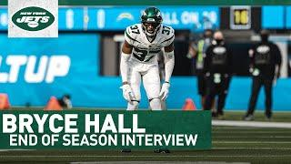"""Bryce Hall Gained """"Perspective"""" In Rookie Season   End Of Season Interview   New York Jets"""