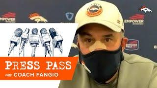 Fangio: 'We play hard, we play physical and we play for each other'