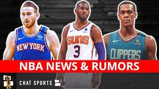 NBA Trade News On Chris Paul To The Suns & Anthony Davis + Rumors On DeMar DeRozan & Gordon Hayward