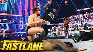 Uso brings chaos to Reigns and Bryan's clash: WWE Fastlane 2021 (WWE Network Exclusive)