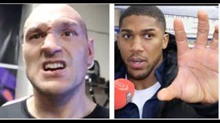*TYSON FURY v ANTHONY JOSHUA* - WILL IT HAPPEN? - THE HEATED WORDS CONTINUED! (VERY STRONG LANGUAGE)