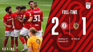 Diédhiou and Paterson give the Robins victory | Extended Highlights: Bristol City 2-1 Hull City