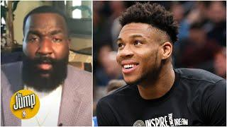 The Bucks have the best starting 5 in the NBA right now – Kendrick Perkins | The Jump