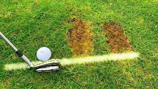 How to Hit the Ball Then the Turf with Your Irons - Simple Golf Tip