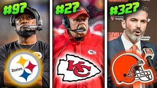 Ranking All 32 NFL Head Coaches of 2020 from WORST to FIRST