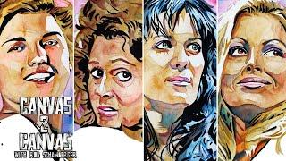 Select Series – Mae Young, Miss Elizabeth, Chyna and Trish Stratus: WWE Canvas 2 Canvas